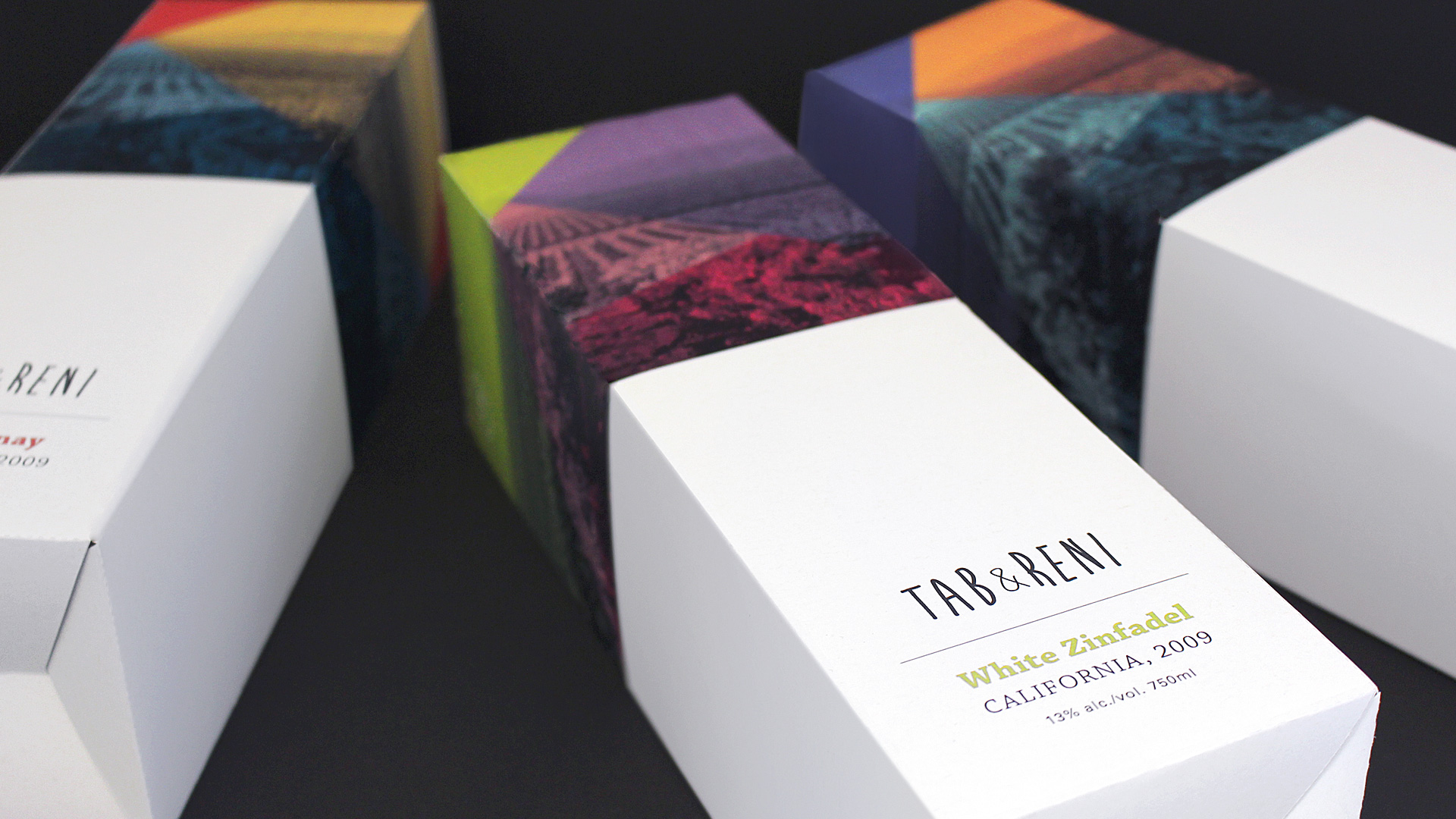 Tab & Reni Wine Packaging