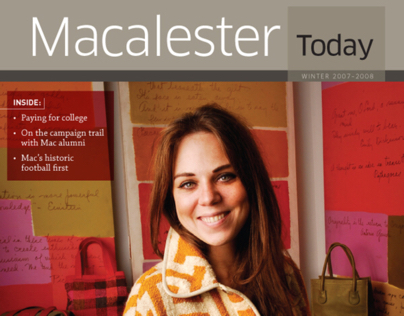 Macalester Today Magazine