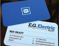 E.G. Electric  |  Branding