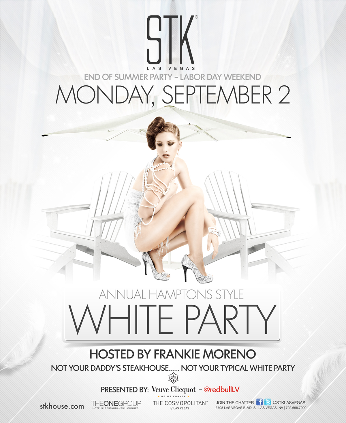 STK LAS VEGAS WHITE PARTY