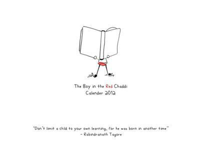 The Boy In The Red Chaddi : Calender 2012