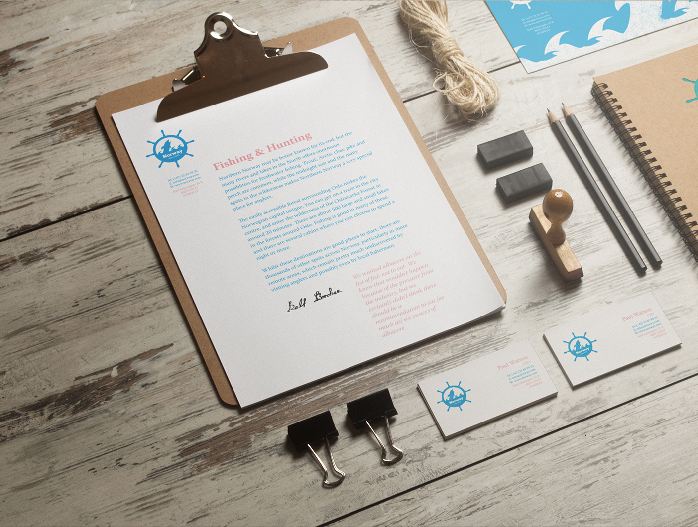Corporate Identity - Norway