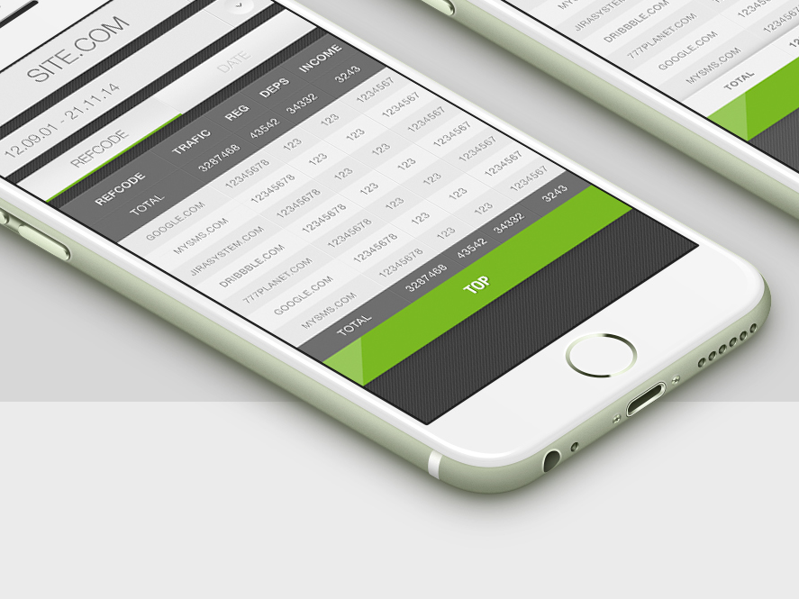 Affiliate Program | mobile web concept |