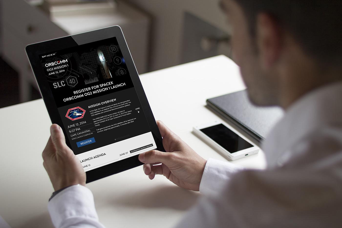 SPACEX Launch Registration Website
