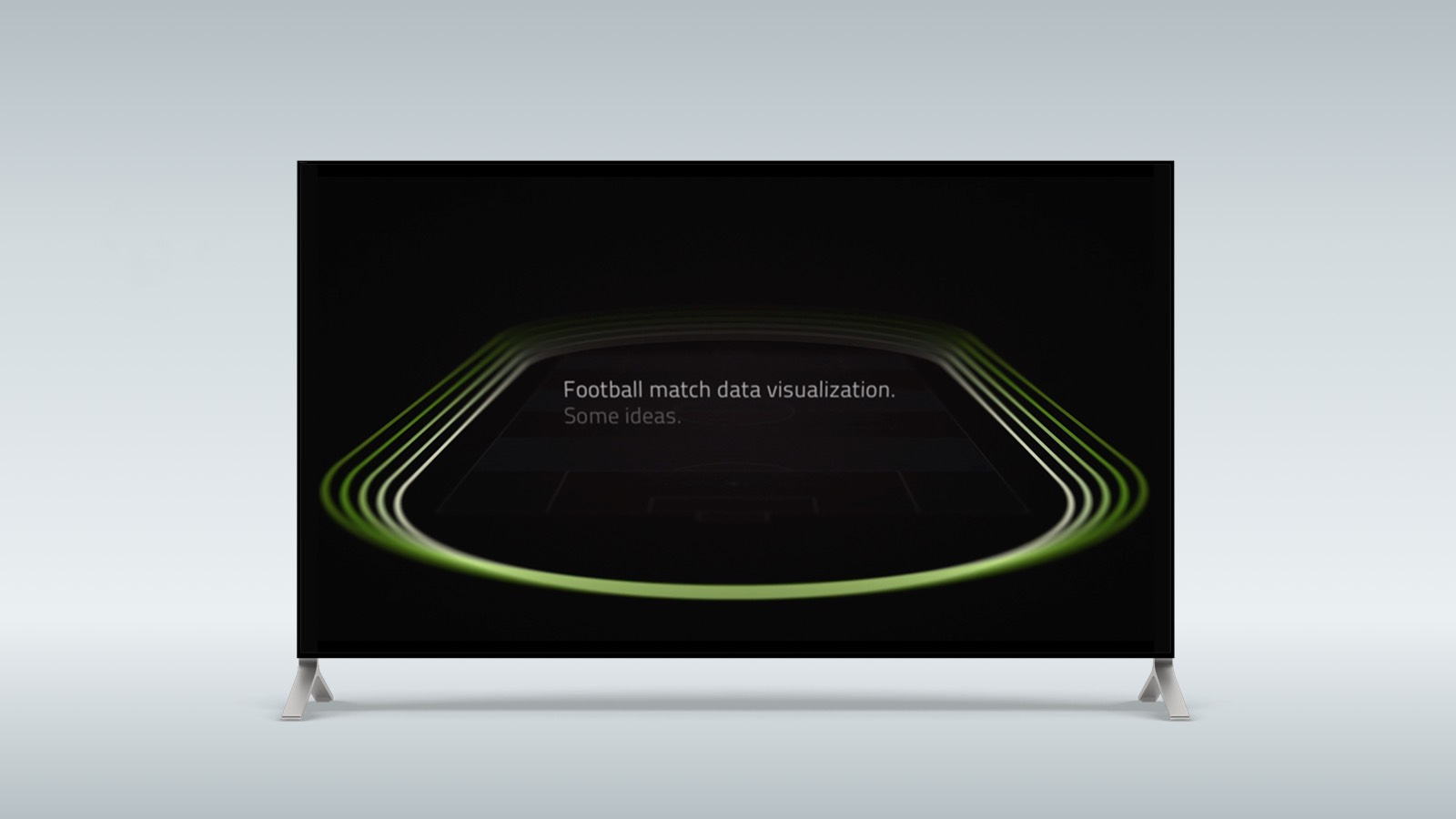 Football match data visualization