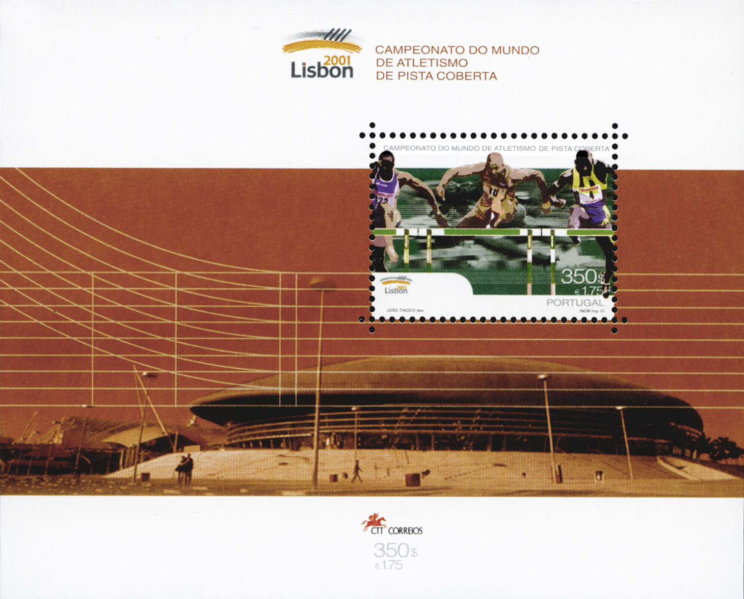 Post Stamps - 8th IAAF World Indoor Championships