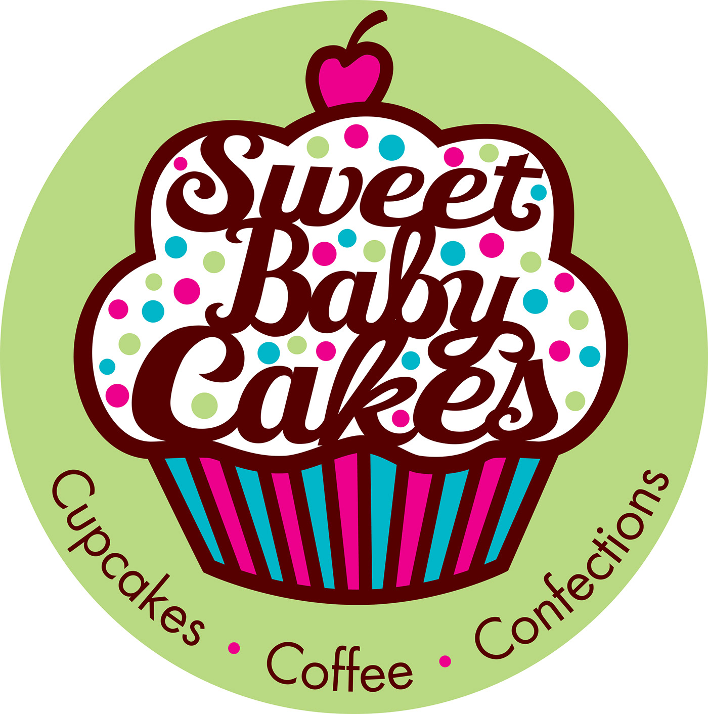 Sweet Baby Cakes logo and sign