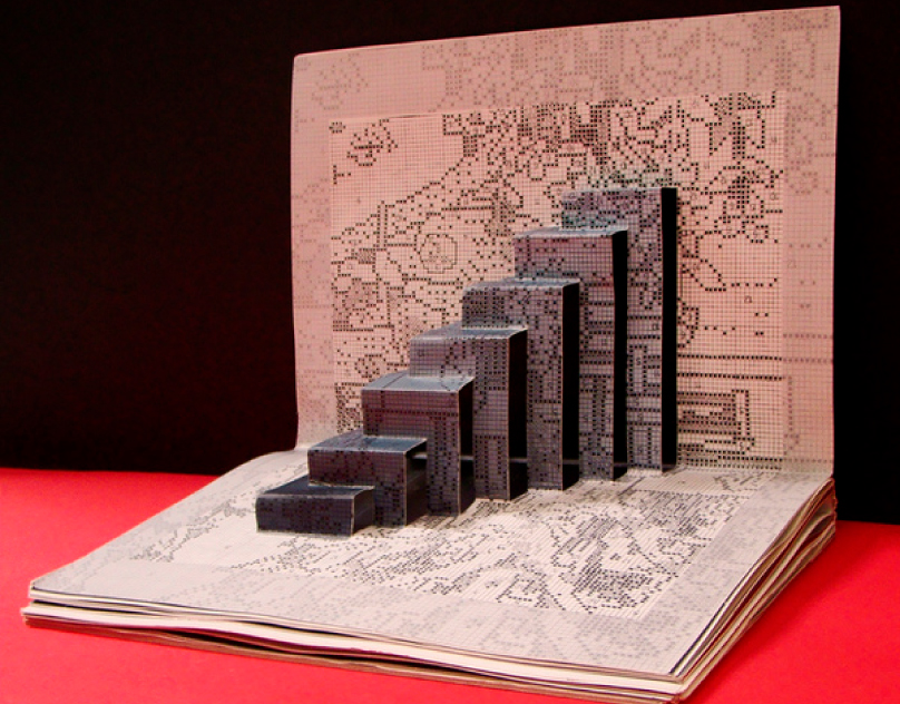 Pop up book - A.I. (2008)
