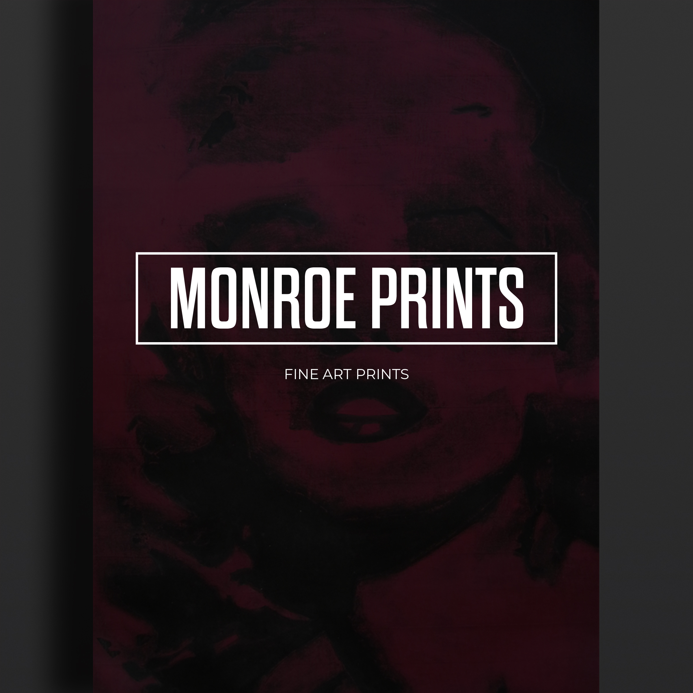Marilyn Monroe Collagraph Prints