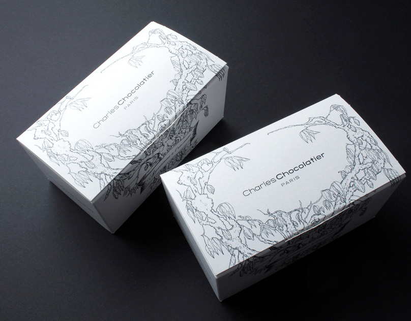 Charles Chocolatier  - Packaging