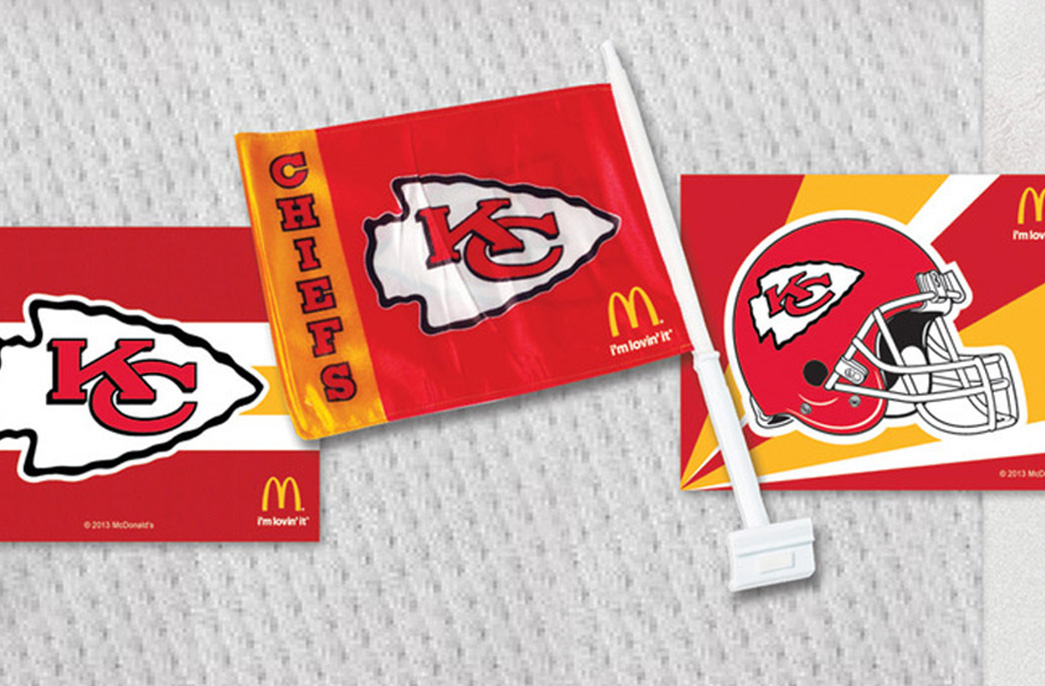 McDonald's x Kansas City Chiefs: Forever Red and Gold