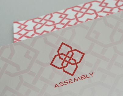 Assembly Salon Logo and Identity