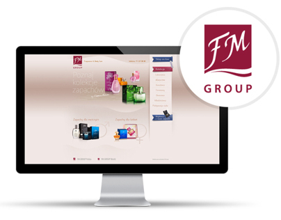 FM Group - main site concept