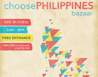 Choose Philippines Event Poster