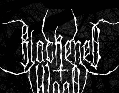 XXII Blackened Wood - Font