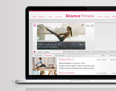 Bounce Fitness – Video