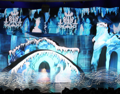 Projection mapping for New Years Eve Show