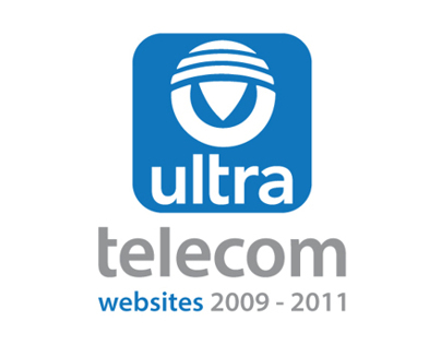 Ultra Telecom websites 2009-2011