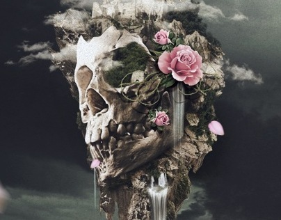 DIGITAL ART (Behind the Skulls)