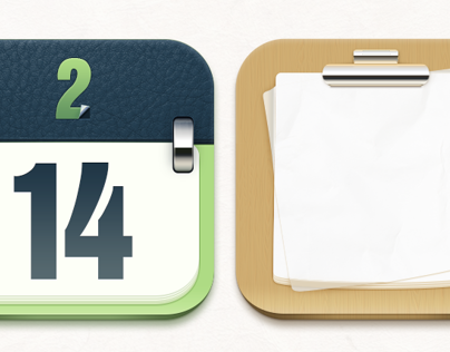 Calendar&Notepad Icon