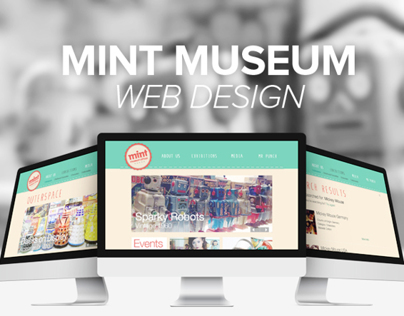 Mint Museum Web Design - Class Assignment