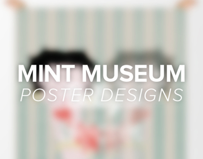 Mint Museum Interactive Poster - Class Assignment