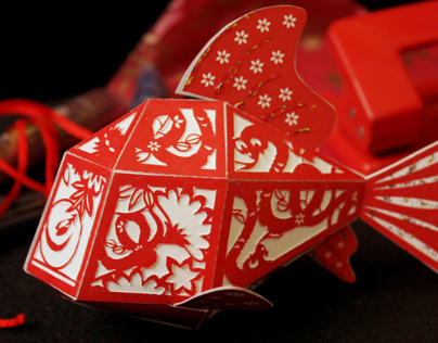 3D Fish Hong Bao