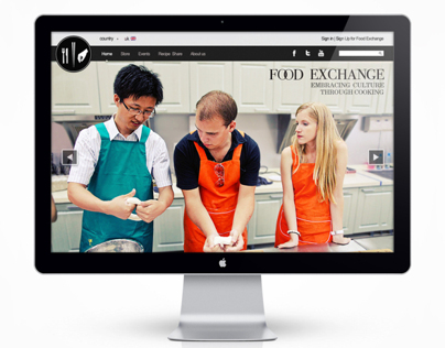 Food Exchange Brand Website