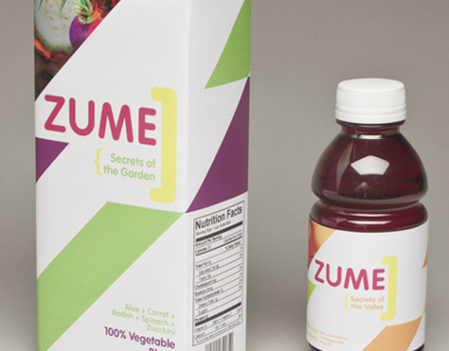 Zume Juice Packaging