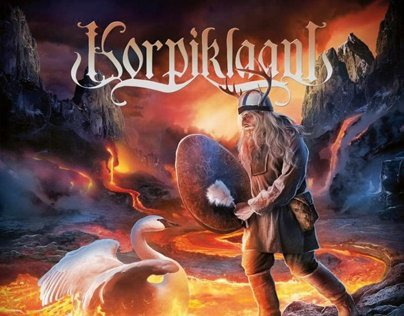 Korpiklaani CD Artwork