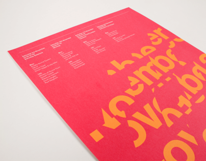 D&AD Typography 2012: Ministry of Sound Posters