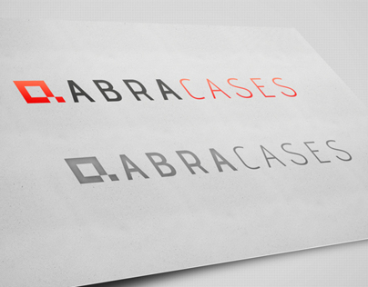 Logo, identification ABRA CASES.