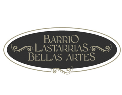 Branding Logo Barrio Lastarrias Bellas Artes