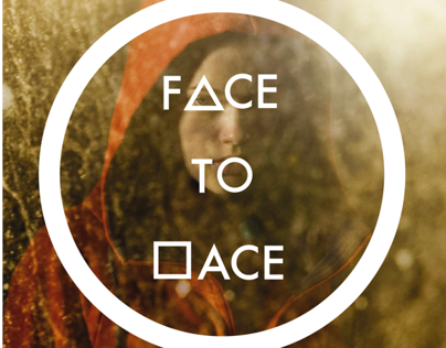 Face to Face exhibition poster/catalogue proposal