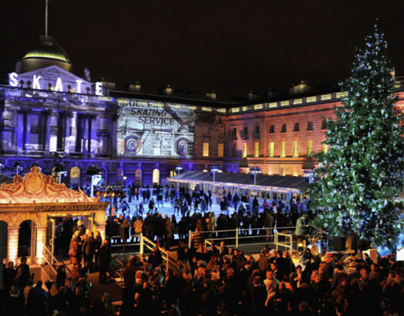 Somerset House / London  Project:Tiffany&Co-Skate Event