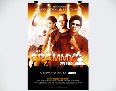 55th Annual Grammy Awards - Promo Poster