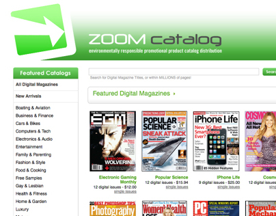 Zoom - Online Catalog Vendor