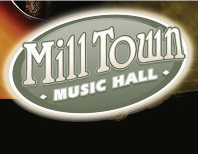 Mill Town Music Hall Billboard