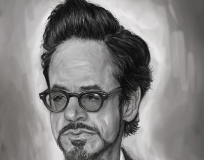 Downey Jr. Digital Illustration
