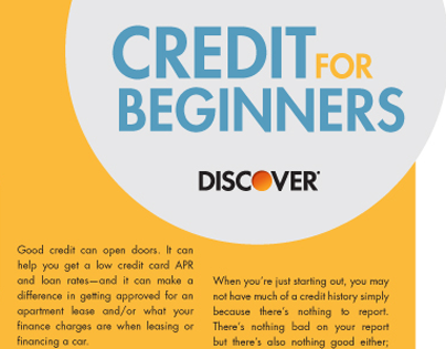 Credit for Beginners