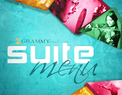 Grammy Awards Suite Menu