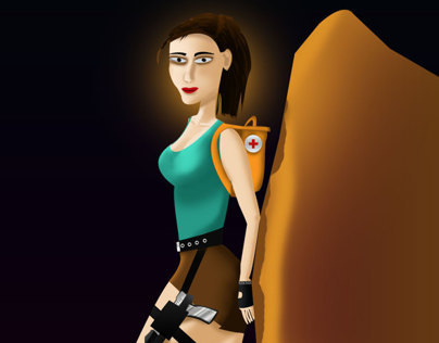 Sketch to Skin LARA CROFT