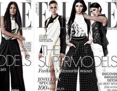 Elle Fashion-The Supermodels-FEB 2013