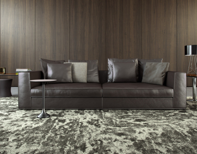 Minotti | Powell 112 Sofa 3D Model