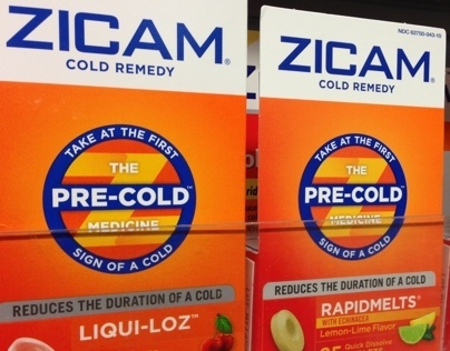 THE ZICAM PITCH