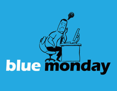 Comic Blue Monday