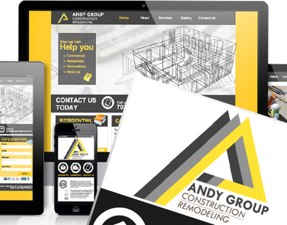 Andy Group LLC | Rebranding | Logo/Website