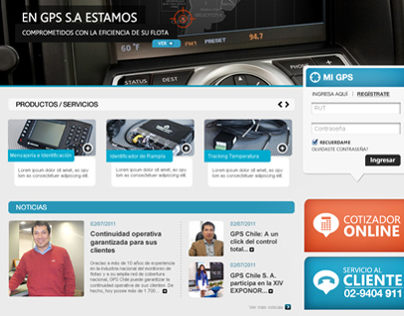 GPS Chile - Home Page