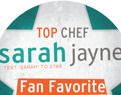 Top Chef - Sarah Jayne
