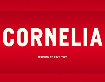 Customized typeface-designs by Novo Typo